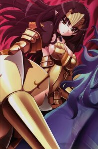 Rating: Questionable Score: 23 Tags: annelotte armor cleavage elf pointy_ears queen's_blade queen's_blade_rebellion tsurugi_hagane User: YamatoBomber