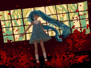 Rating: Safe Score: 17 Tags: dohi dress hatsune_miku vocaloid User: Debbie