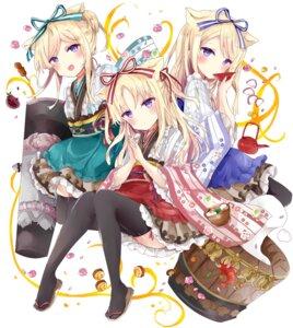 Rating: Safe Score: 28 Tags: animal_ears lolita_fashion sinoalice skirt_lift thighhighs tsukiyo_(skymint) wa_lolita User: Arsy