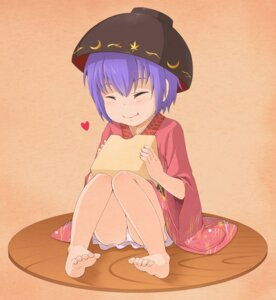 Rating: Safe Score: 15 Tags: feet haragon pantsu sukuna_shinmyoumaru touhou yukata User: Mr_GT