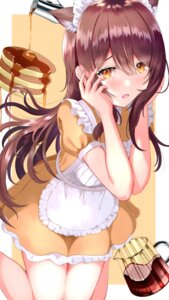 Rating: Safe Score: 31 Tags: akira_teacher animal_ears maid nekomimi oosaki_tenka the_idolm@ster the_idolm@ster_shiny_colors User: Arsy