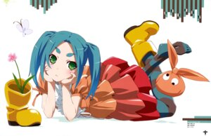 Rating: Safe Score: 39 Tags: bakemonogatari dress niigaki_kazunari ononoki_yotsugi pantyhose User: drop
