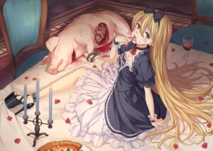 Rating: Questionable Score: 51 Tags: blood dress guro heels oozora_wakaba User: nphuongsun93