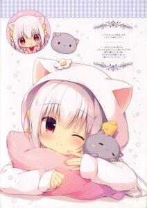 Rating: Safe Score: 35 Tags: animal_ears canvas+garden chibi inae_koron miyasaka_nako neko nekomimi pajama seifuku User: kaguya940385