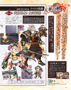 Rating: Safe Score: 4 Tags: armor chibi japanese_clothes sword tagme tenka_hyakken thighhighs User: zyll