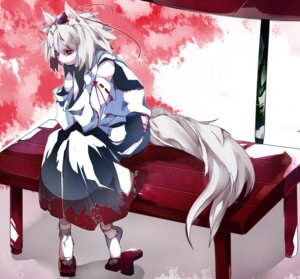 Rating: Safe Score: 8 Tags: animal_ears ikurauni inubashiri_momiji tail touhou User: charunetra