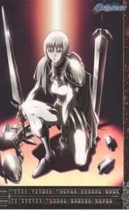 Rating: Safe Score: 5 Tags: armor calendar clare claymore sword User: Radioactive