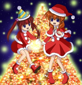 Rating: Safe Score: 2 Tags: christmas pokiko umineko_no_naku_koro_ni ushiromiya_ange ushiromiya_maria User: 洛井夏石