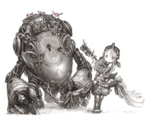 Rating: Safe Score: 24 Tags: made_in_abyss mecha monochrome tsukushi_akihito User: santos-san
