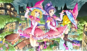 Rating: Safe Score: 19 Tags: asahina_mirai dress izayoi_riko mahou_girls_precure! pretty_cure witch yuutarou User: Mr_GT