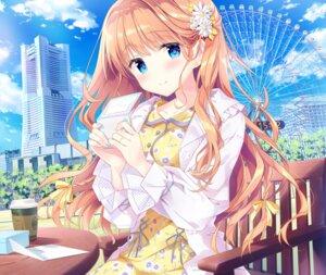Rating: Safe Score: 95 Tags: date_situation_zukan dress kimishima_ao saijo_melia User: fairyren
