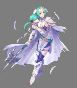 Rating: Questionable Score: 3 Tags: armor fire_emblem fire_emblem:_souen_no_kiseki fire_emblem_heroes heels nintendo pantyhose pikomaro sigrun torn_clothes weapon User: fly24