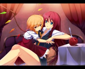 Rating: Safe Score: 21 Tags: cleavage flandre_scarlet hong_meiling minoinomi touhou User: KerrigN