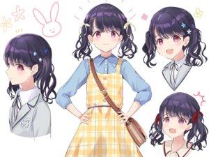 Rating: Safe Score: 27 Tags: character_design dress fukumaru_koito seifuku sky_cappuccino the_idolm@ster the_idolm@ster_shiny_colors User: Dreista