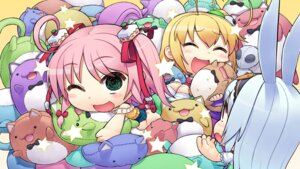Rating: Safe Score: 14 Tags: abua animal_ears bunny_ears chibi chocola_(whirlpool) elise_wallenstein g.i.b._girls_in_black kurokawa_yukano otonashi_sorami wallpaper whirlpool User: moonian