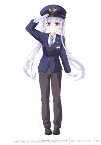 Rating: Safe Score: 38 Tags: new_game! suzukaze_aoba tagme tokunou_shoutarou uniform User: Twinsenzw