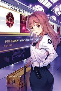 Rating: Questionable Score: 29 Tags: ass rail_wars! tagme uniform vania600 User: kiyoe