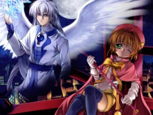 Rating: Safe Score: 6 Tags: card_captor_sakura kinomoto_sakura moonknives wallpaper wings yue User: blooregardo