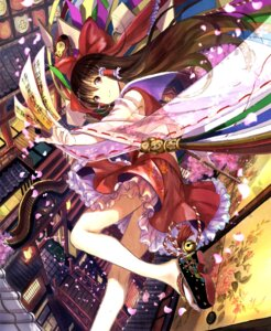 Rating: Safe Score: 75 Tags: fuzichoko hakurei_reimu see_through touhou User: Mr_GT