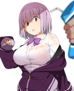 Rating: Questionable Score: 33 Tags: manabebebe nipples no_bra see_through seifuku shinjou_akane ssss.gridman sweater wet wet_clothes User: saemonnokami