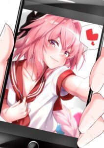 Rating: Safe Score: 32 Tags: astolfo_(fate) fate/grand_order seifuku takatun223 trap User: Mr_GT