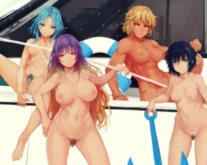 Rating: Explicit Score: 32 Tags: censored hijiri_byakuren kumoi_ichirin murasa_minamitsu naked nipples pubic_hair pussy tagme toramaru_shou touhou User: BattlequeenYume
