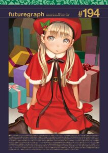 Rating: Safe Score: 11 Tags: christmas dress range_murata tagme User: Poiness