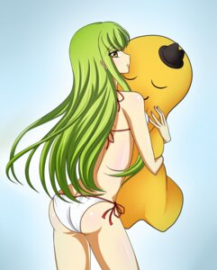 Rating: Safe Score: 27 Tags: ass bikini c.c. cheese-kun code_geass kagerou swimsuits User: CC