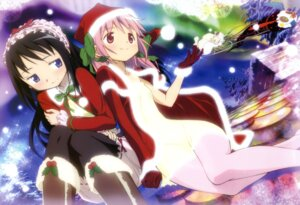 Rating: Safe Score: 54 Tags: akemi_homura bloomers charlotte_(puella_magi_madoka_magica) christmas kaname_madoka kyubey pantyhose puella_magi_madoka_magica takenawa_rina terao_hiroyuki User: Jigsy