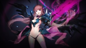 Rating: Questionable Score: 77 Tags: armor bikini_armor cleavage swd3e2 sword tiruka underboob venus_blood venusblood_-frontier- wings User: Mr_GT