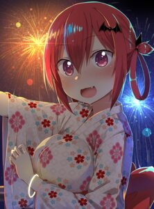 Rating: Safe Score: 53 Tags: 5240mosu gabriel_dropout kurumizawa_satanichia_mcdowell yukata User: Mr_GT