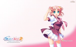 Rating: Safe Score: 16 Tags: amamoto_fuuka ginta seifuku sugar+spice_2 thighhighs wallpaper User: girlcelly