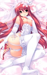 Rating: Questionable Score: 116 Tags: breasts cameltoe dress garter_belt nipples overfiltered pantsu prim_rina_oaklane primary_~magical★trouble★scramble~ stockings thighhighs tsurugi_hagane wedding_dress User: xxdcruelifexx