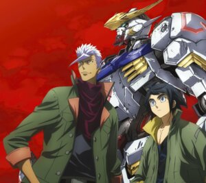 Rating: Safe Score: 7 Tags: disc_cover gundam gundam_barbatos gundam_iron-blooded_orphans mecha User: rx178aeug