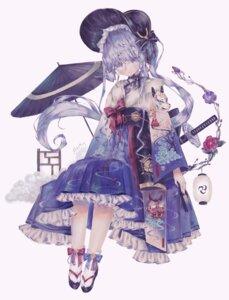 Rating: Questionable Score: 13 Tags: genshin_impact lolita_fashion skirt_lift sword tagme umbrella wa_lolita User: Mr_GT