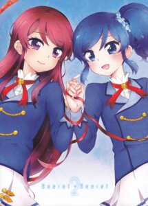 Rating: Safe Score: 15 Tags: aikatsu! kiriya_aoi nae_(rno) shibuki_ran User: Radioactive