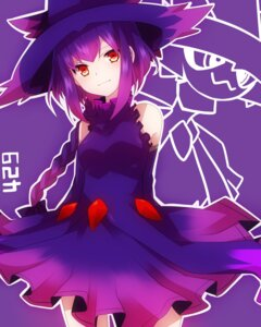 Rating: Safe Score: 44 Tags: anthropomorphization dress mismagius pokemon takeshima_(nia) User: charunetra