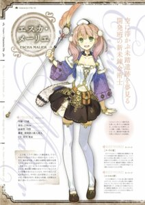 Rating: Safe Score: 16 Tags: atelier atelier_escha_&_logy character_design digital_version escha_malier hidari jpeg_artifacts profile_page User: Shuumatsu