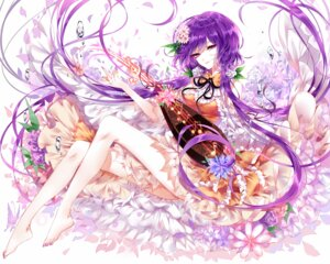 Rating: Safe Score: 16 Tags: sheya touhou tsukumo_benben User: Mr_GT