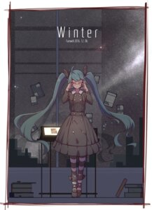 Rating: Safe Score: 36 Tags: dress hatsune_miku megane vocaloid zhayin-san User: Mr_GT