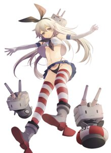 Rating: Questionable Score: 57 Tags: harano kantai_collection pantsu rensouhou-chan shimakaze_(kancolle) thighhighs underboob User: blooregardo