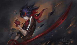 Rating: Safe Score: 45 Tags: kill_la_kill matoi_ryuuko or_seven sword User: Mr_GT