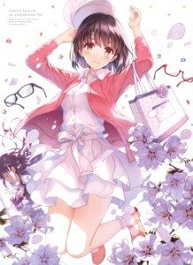 Rating: Safe Score: 207 Tags: disc_cover dress katou_megumi megane misaki_kurehito saenai_heroine_no_sodatekata saenai_heroine_no_sodatekata_flat User: Twinsenzw