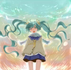 Rating: Safe Score: 5 Tags: hatsune_miku seifuku vocaloid wakuraba User: charunetra