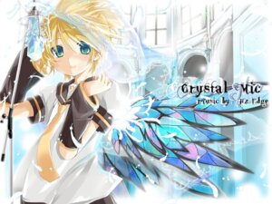 Rating: Safe Score: 10 Tags: hekicha kagamine_len male vocaloid wallpaper User: charunetra