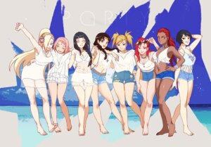 Rating: Safe Score: 45 Tags: bikini_top cleavage dress feet haruno_sakura hyuuga_hinata karui megane naruto naruto_shippuden noeunjung93 temari_(naruto) tenten torn_clothes yamanaka_ino User: Radioactive