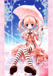 Rating: Questionable Score: 50 Tags: animal_ears bell lolita_fashion nekomimi pantsu thighhighs tinkerbell tinkle User: midzki