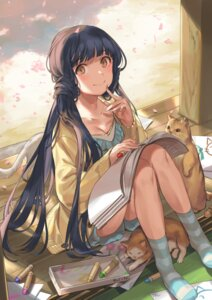 Rating: Safe Score: 34 Tags: cleavage kitakami_reika neko nys the_idolm@ster the_idolm@ster_million_live! User: BattlequeenYume