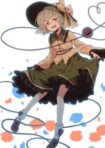 Rating: Questionable Score: 12 Tags: komeiji_koishi skirt_lift touhou tuck User: yanis