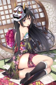 Rating: Questionable Score: 109 Tags: cameltoe garter karumayu kimono no_bra pantsu User: nphuongsun93